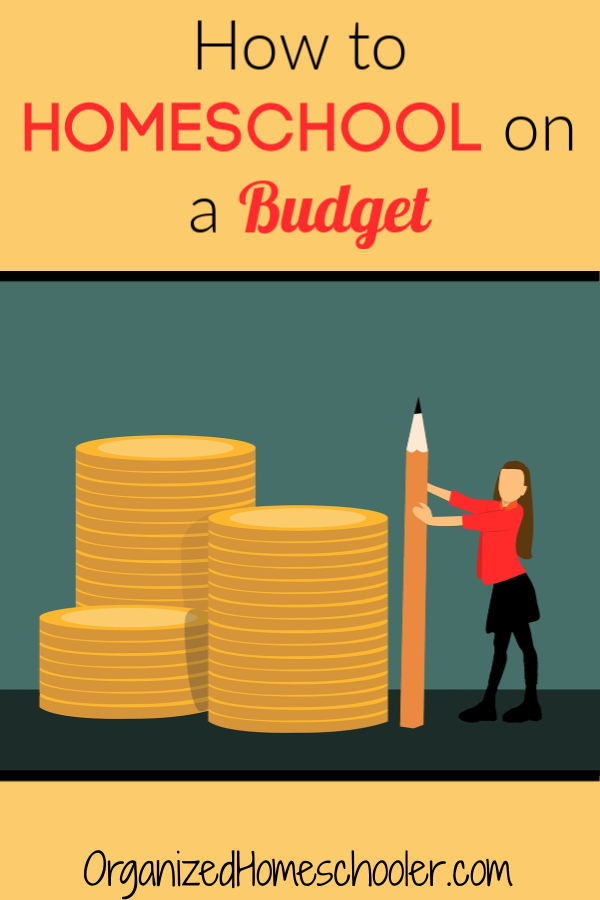 Find out how to reduce your homeschool expenses and homeschool on a budget.