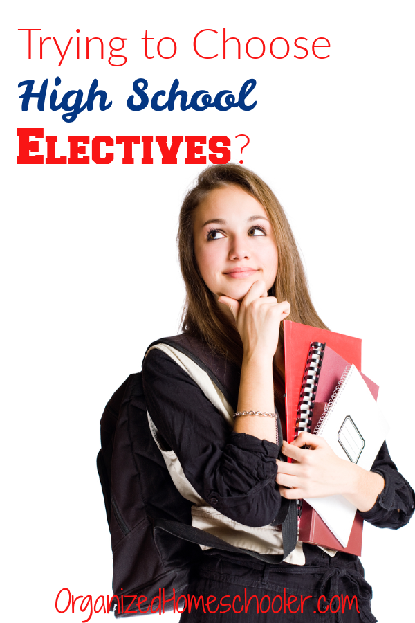 This list of homeschool high school electives is full of great ideas to challenge and interest your student. The right elective makes learning relevant to their life or future plans.