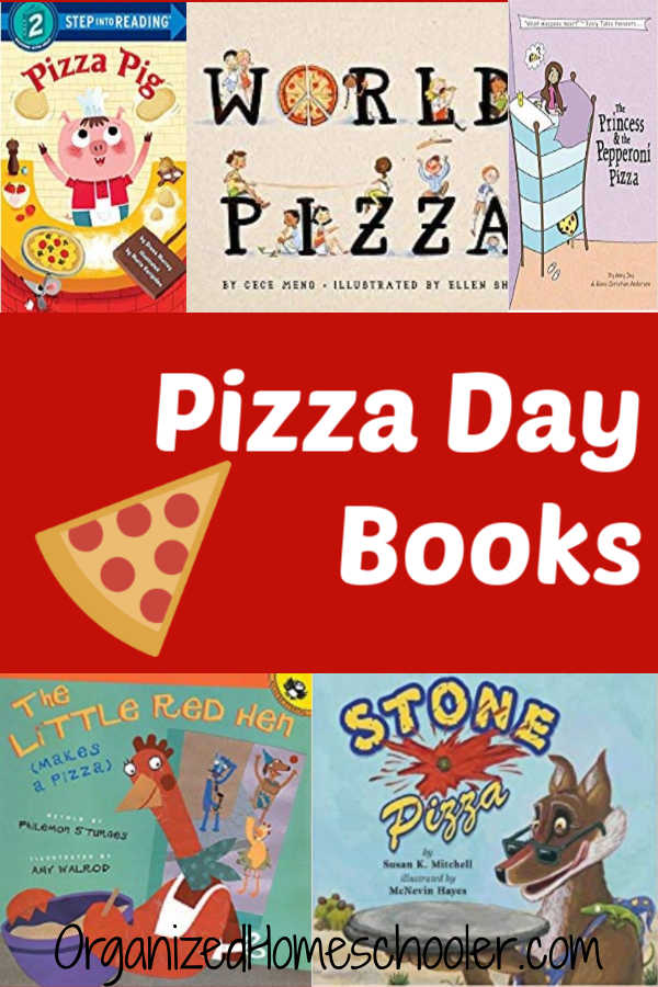Celebrate National Pizza Day with these children's books all about pizza.