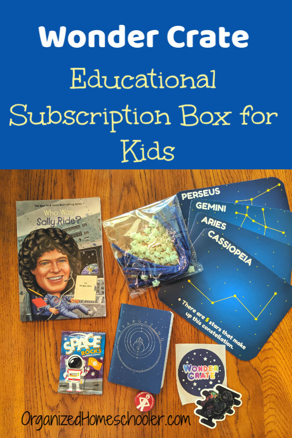 Check out Wonder Crate ~ an educational subscription box for kids age 7 - 11. This kit makes a great gift!