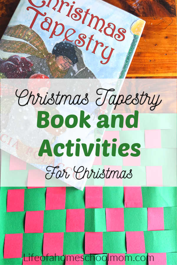 The Christmas Tapestry book and activities are the perfect addition to your Christmas reading basket or Advent calendar. These family friendly activities extend the learning help you homeschool through the holidays.