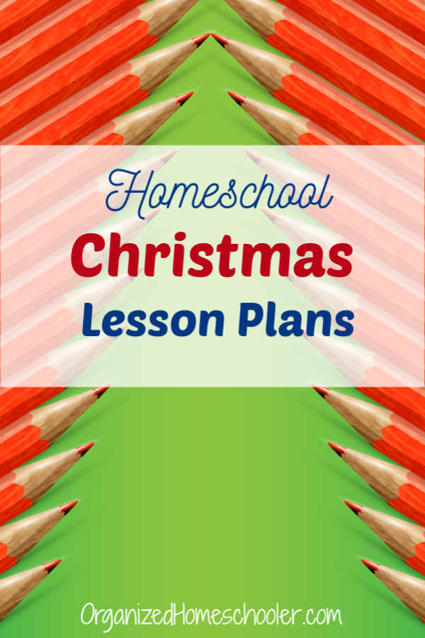 These homeschool Christmas lesson plans are a great way to sprinkle a little education in among all the holiday festivities.