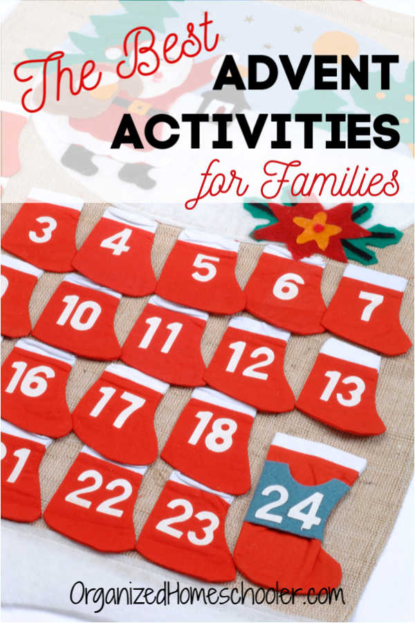 These Advent activities for families are the best way to celebrate the time leading up to Christmas. #Christmas #Advent