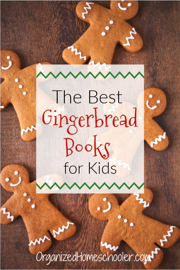 Read these best gingerbread books with your kids while you wait for the Christmas cookies to bake! #Christmas #gingerbread #kids