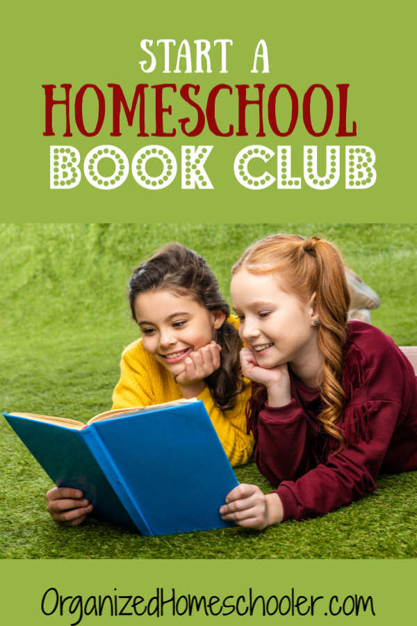 Start a book club for kids with these easy ideas. A few activities, snacks, and lively discussion can really get kids interested in reading. Learn how to start a book club for kids. #homeschool #bookclub #organizedhomeschooler
